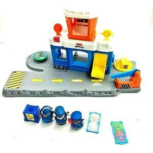 Fisher Price Little People Airforce Pilot Dispatch